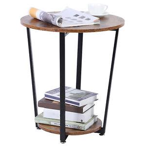 Table De Chevet Table De Canapé Table D'appoint Industrielle Durable Table Basse