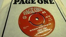 PLASTIC PENNY EVERYTHING I AM c/w NO PLEASURE WITHOUT PAIN MY LOVE PAGE ONE 1967