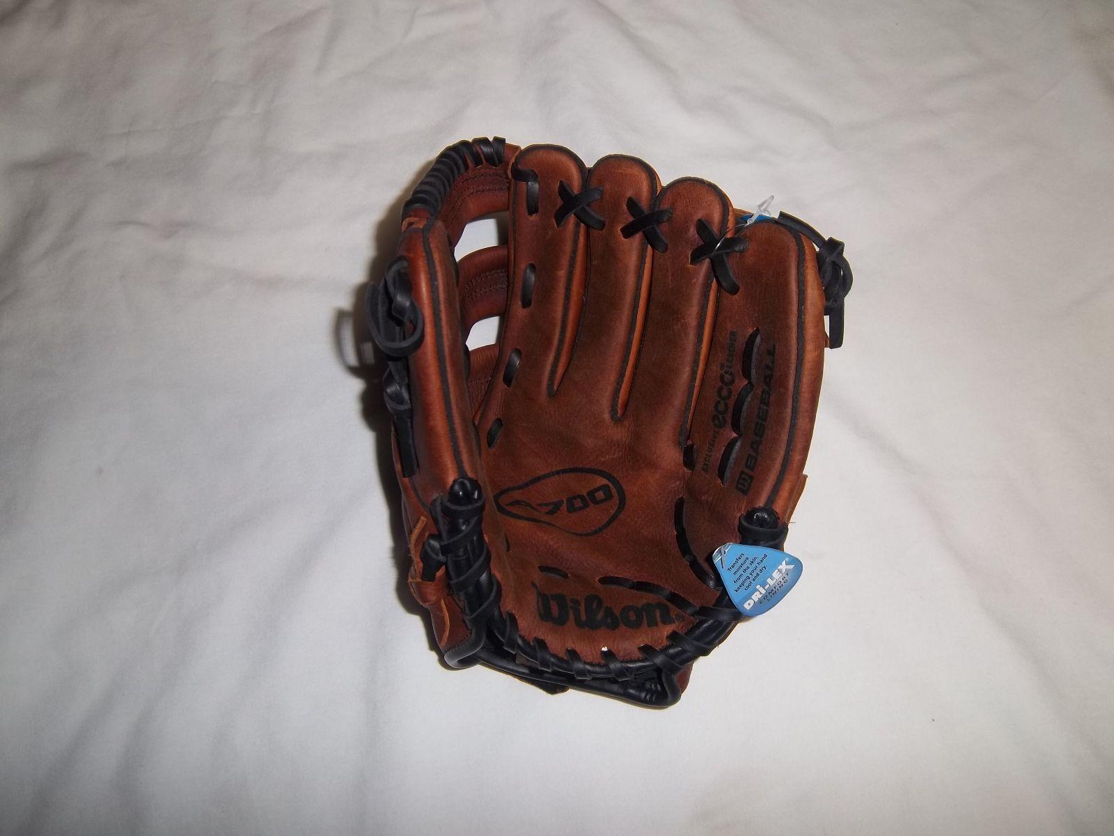 Wilson A0700 Guante de béisbol Lanzador-Mano Derecha-va en la mano izquierda