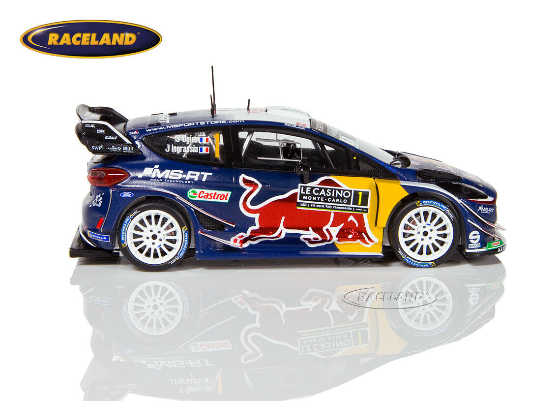Ford Fiesta WRC M-Sport 1° Rallye Monte Monte Monte Carlo 2018 Ogier Ingrassia, Spark 1 43 cbaa8e