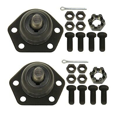 Pair Set of 2 Front Upper Suspension Ball Joints Moog for Mazda Miata 90-97