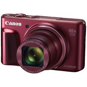 100% Vrai Canon Powershot Sx720 Hs Rouge Appareil Photo Numérique Japon Ver. Nouveau Peut êTre à Plusieurs Reprises Replié.
