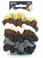 Goody Ouchless Ribbed Hair Scrunchies - 8 Pcs. (01800)