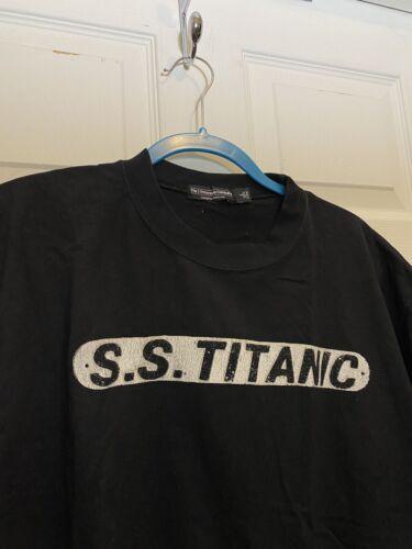 Vintage S.S. Titanic J. Peterman Company T-Shirt