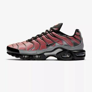 Nike Air Max Plus TN Tuned-Blanc/Bleu/Rouge-CW7575 100-UK 9, 10 ...