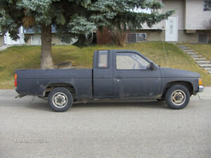 1987 NISSAN D21 Hardbody   Please read ad