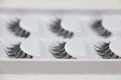 Big Sale! 5 PAIRS MESSY CROSS POPULAR  False Eyelashes  Beauty eye lashes WH