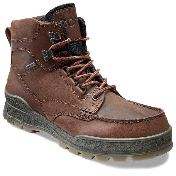 Ecco Track II Men Stiefel Herren Outdoor Stiefel Hiking Schuhe bison 001954-00741