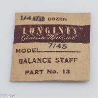 Longines Genuine Material Balance Staff Part 13 723 For Longines Model 7/45