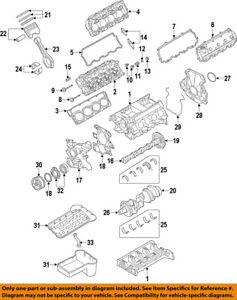 FORD OEM 11-18 F-350 Super Duty-Engine Cylinder Head Gasket AL3Z6051B