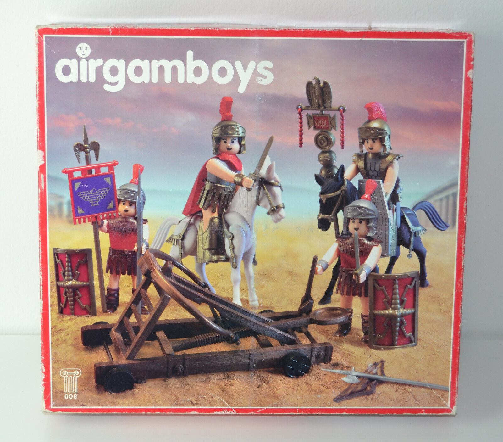 AIRGAMBOYS ref.008 CATAPULTA ROMANA - NEU - MIB