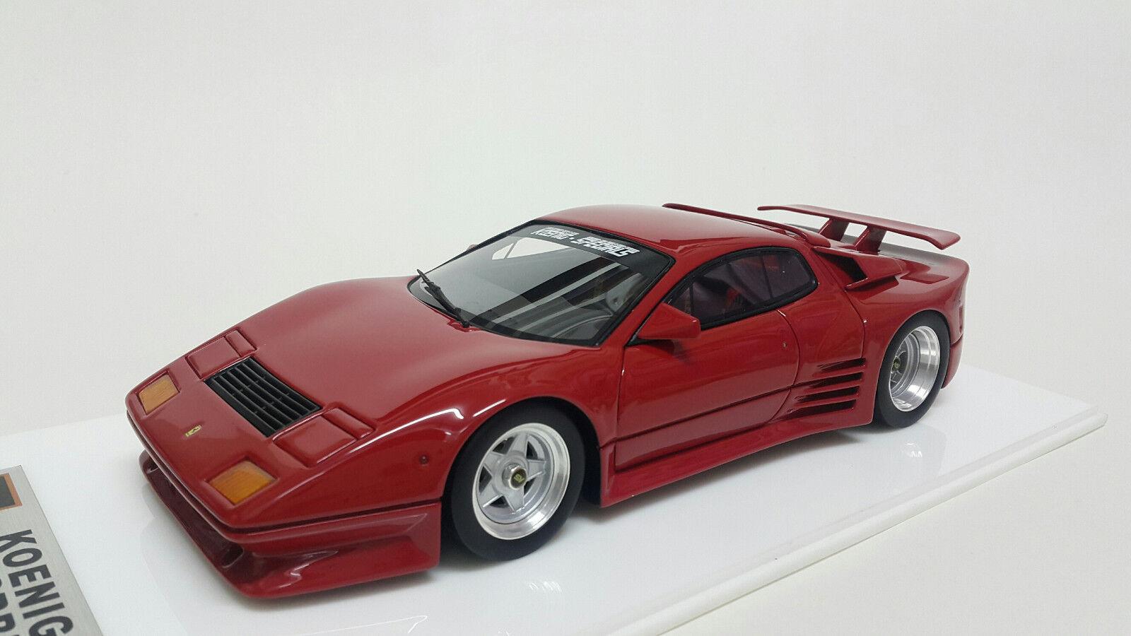 1 18 APM Ferrari 512BBi Koenig Red