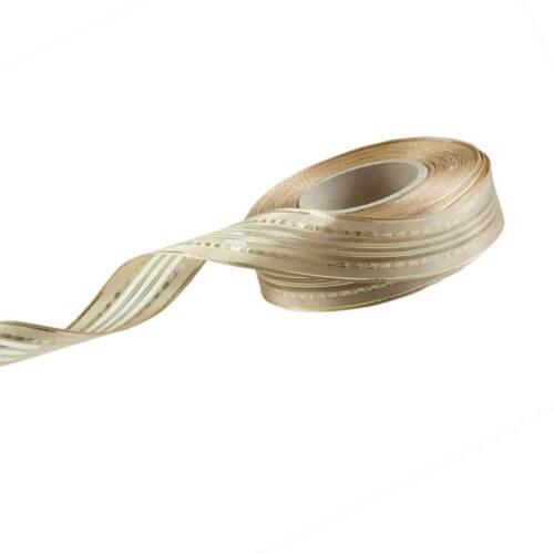 Glitzer 25mm Made in EU Dekoband Schleifenband Drahtkante u 25m Geschenkband m