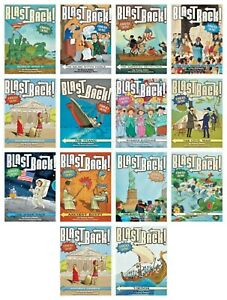 NEW Blast Back! Set of 14 A Peek into the Past Nancy Ohlin History Kid Children