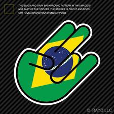 Brazilian Shocker Sticker Die Cut Decal Self Adhesive Vinyl brasil brazil