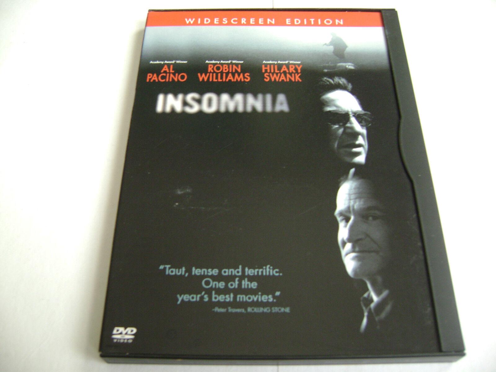 Insomnia (DVD, Widescreen Edition, Bilingual) Al Pacino, Robin Williams 1