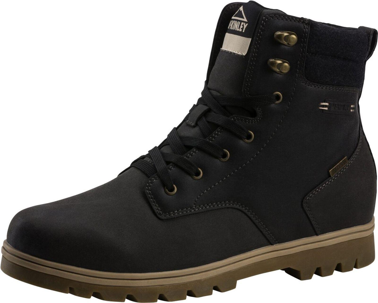 Mckinley Hombre botas de Invierno Luca Aqx gris Oscuro