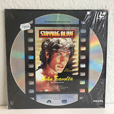 Staying Alive John Travolta | Laserdisc PAL Deutsch  | Fast wie Neu / Near Mint