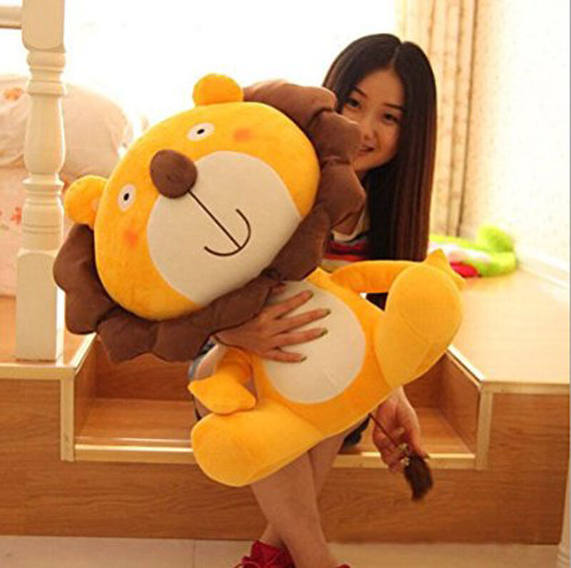 24in. Big Plush Lion Giant Large Stuffed Soft Plush Toys Doll Pillow kids gift