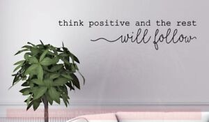 Think-Positive-Motivational-Wall-Quotes-Vinyl-Lettering-Decals-Daycare-Classroom