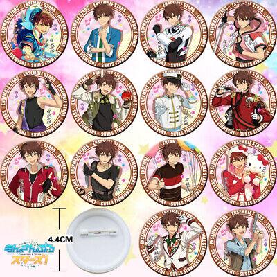 14PCS Anime Ensemble Stars Tomoe Hiyori Badge Itabag Pin Button Holiday Gift