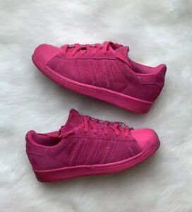 Hot Pink Suede RT Shoe Big Kids Size