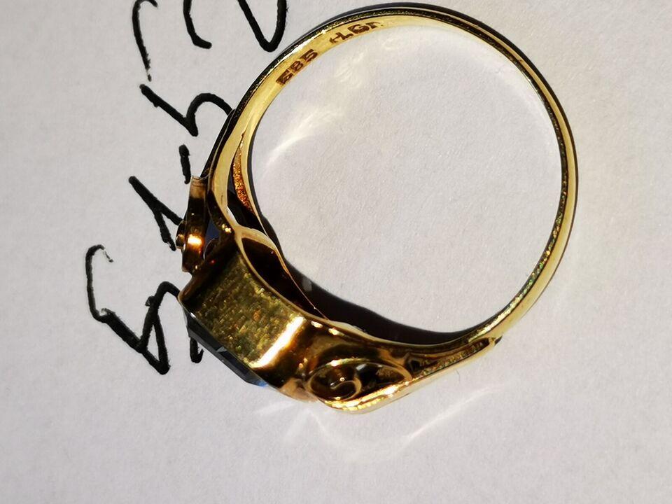Ring, guld, 14kt
