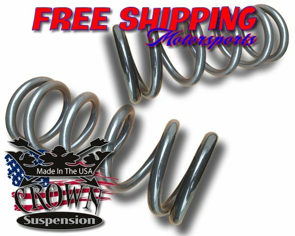 "1997-2003 Ford F150 V6 3"" Lowering Drop Coils Springs Kit Crown Suspension"