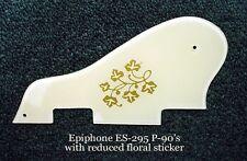 ES-295 Creme & Gold Pickguard handmade for Epiphone Vintage Guitar Project NEW