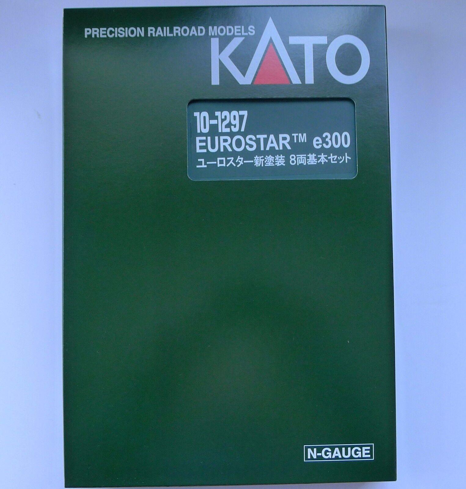 Kato N Scale 10-1297 EUROSTAR New color e300 8 8 8 Cars Set f3359f