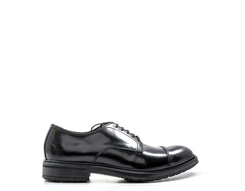 Schuhe EVEET Mann NERO Naturleder 18602REX-NE