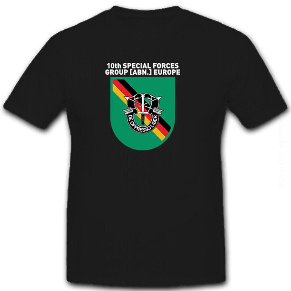 10th Special forces Group  Europe Wappen Abzeichen Emblem - T Shirt  8479  | Adoptieren  | Billig  | Sale
