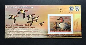 RW81A-2014-2015-US-Federal-Duck-Stamp-Post-Office-FRESH