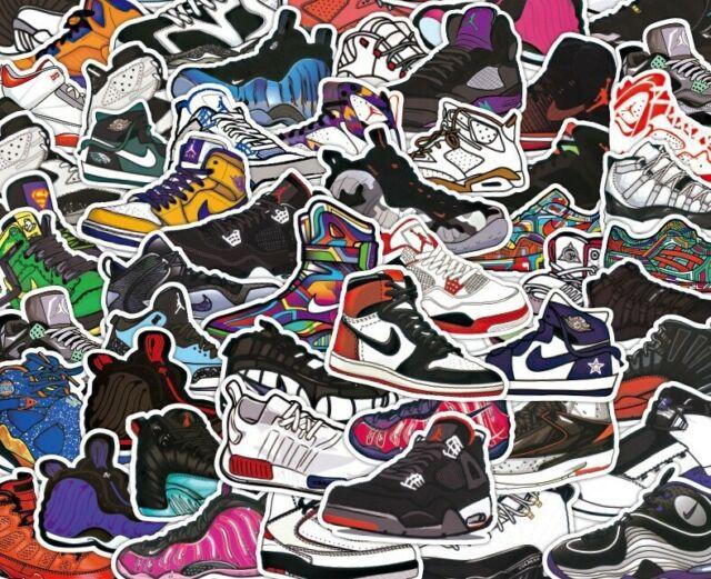100 pcs Random Skateboard Stickers Cool
