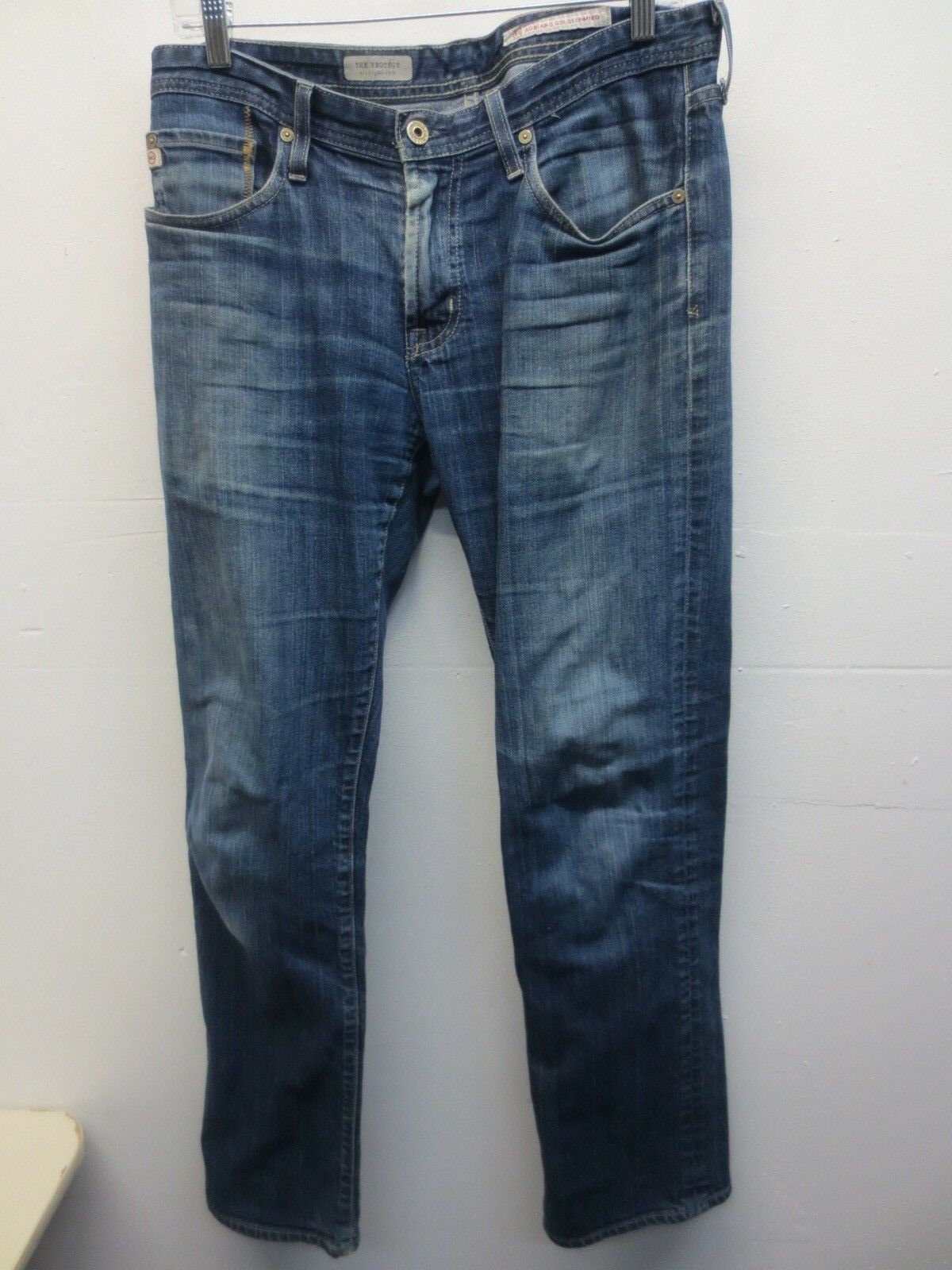 Adriano goldschmied, The Predégé, Straight Leg, Men's Size 32 bluee Jeans