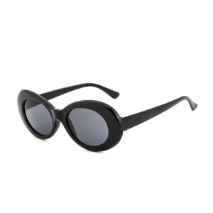 388a9a298a7f Retro Clout Goggles Unisex Sunglasses Rapper Oval Shades Grunge Glasses 001