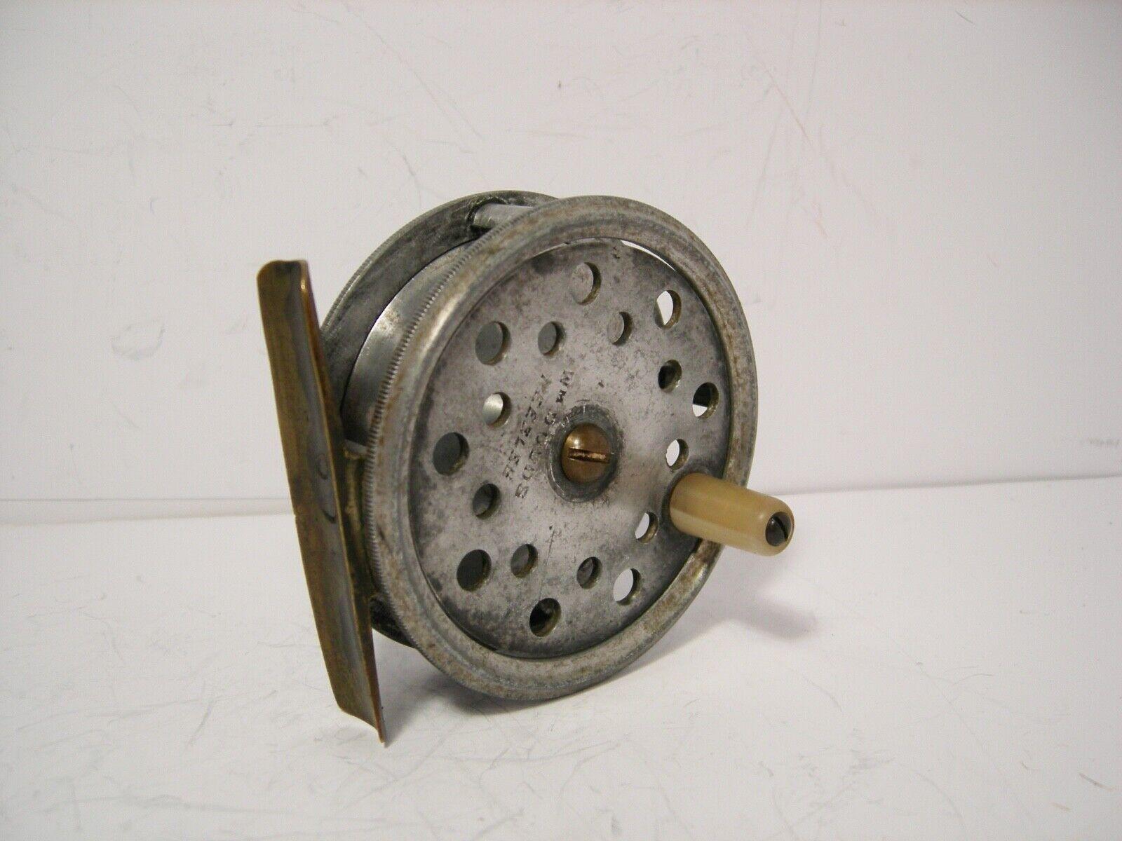 Vintage Antique Reuben Heaton 3  Alloy  Fly Fishing Reel  offering 100%