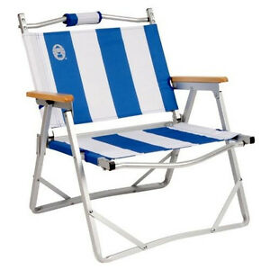 Image Is Loading Coleman Beach Chair Low To The Ground Portable