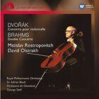 Dvorak Conc Violoncelle Rostropovitc 0724382665922 by Brahms CD
