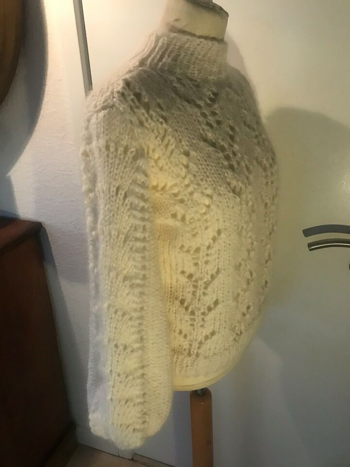 Sweater, Ganni inspireret hjemmestrik, str. S