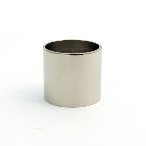 Plain Nickel-Silver Collars for Walking Stick Making Choose Size and Quantity