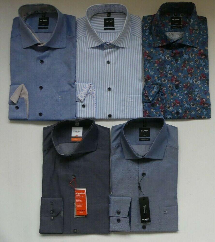 neuf avec étiquette différentes couleurs Original OLYMP LUXOR Slim Line chemise taille 41