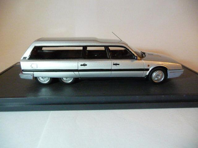 1 43 Matrix Citroen CX Loadrunner 1989 Silber metallic