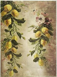 Rice Paper for Decoupage Scrapbook Craft Sheet Traditional Easter