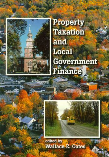 Property Taxation and Local Government Finance