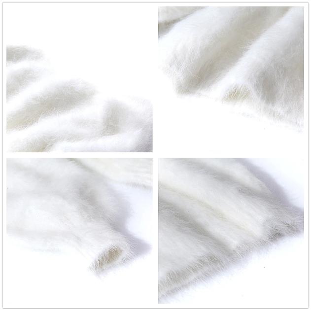 100% Angora PULLOVER LANA DOLCEVITA wool jumper jumper jumper sweater Mink Cashmere 4d38c4