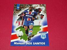 PANINI FOOTBALL CARD 98 1997-1998 M. DOS SANTOS SC MONTPELLIER HERAULT MHSC
