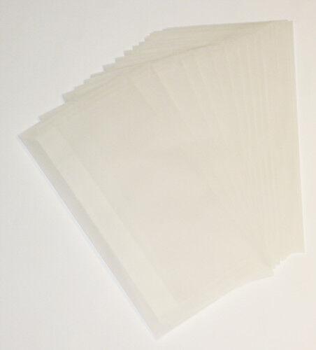 20 x Premium DIN lang Briefumschläge Transparent