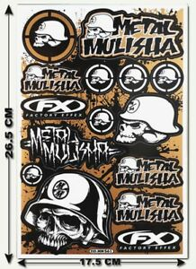 Metal-Mulisha-Stickers-Decals-Motorcycle-Bike-Truck-Bumper-MX-Supercross-MTB-T18
