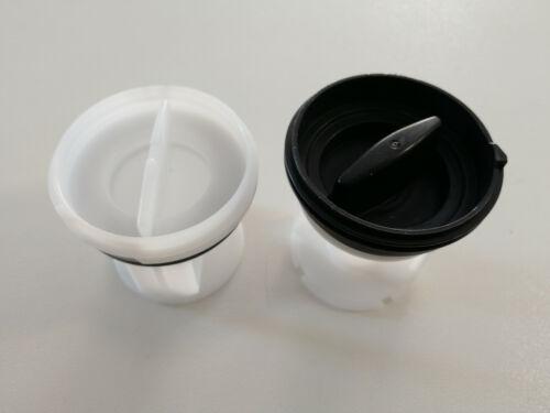 Kit 2 filtri per lavatrice 484000000966+481248058403 originale Whirlpool